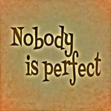 Image result for images related noone is perfect