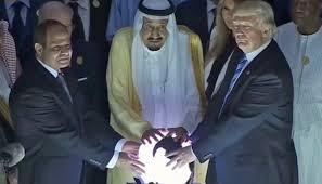 Trump and Saudi King Crystal ball.jpg
