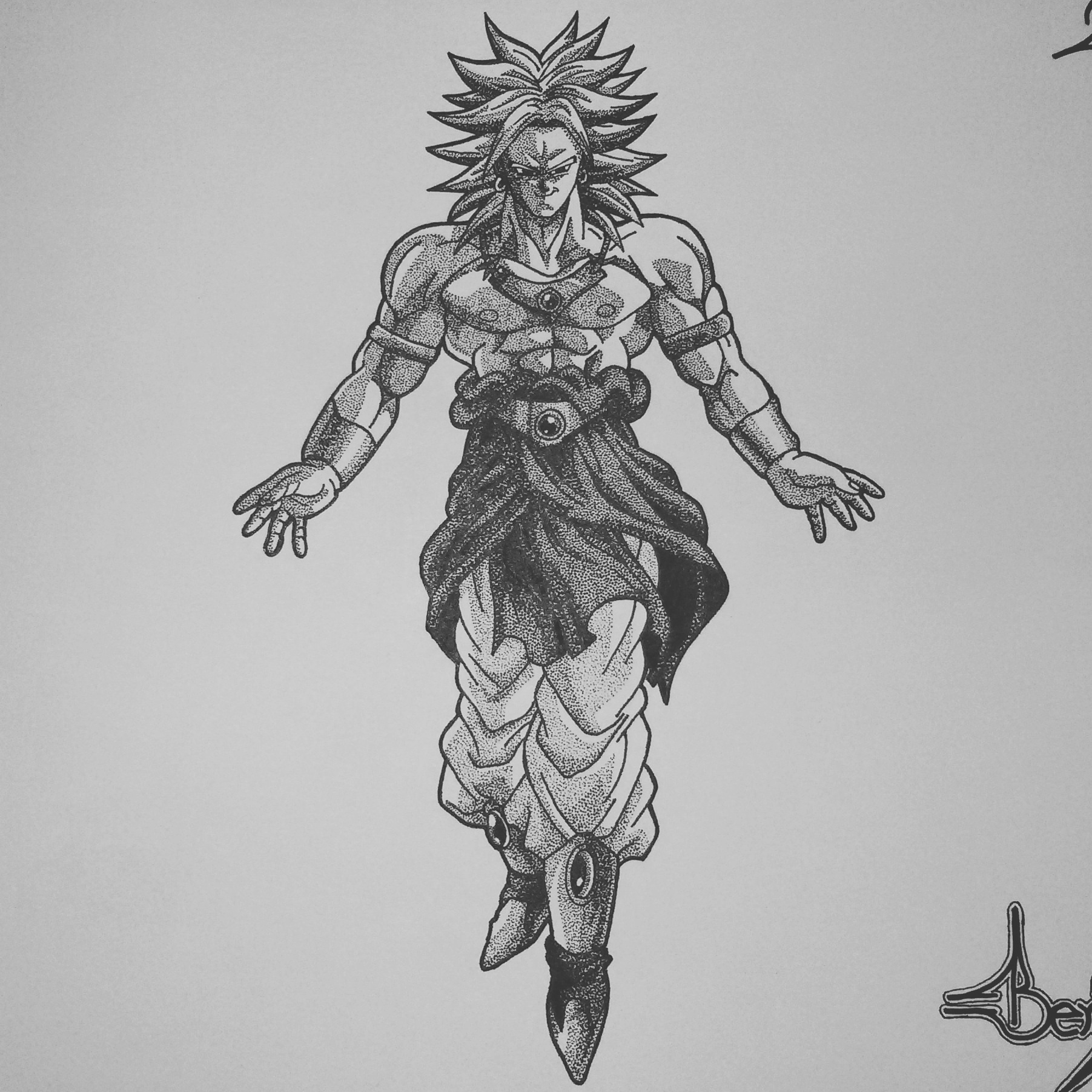 11 Dragon Ball Z Drawing Of Broly Steemit