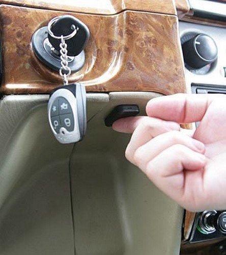 Секретная кнопка от угона на автомобиль
