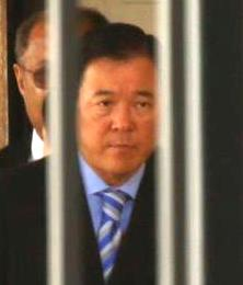 LASD Undersheriff Paul Tanaka following his conviction for obstruction of federal investigation