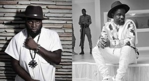 Two of GH's best rappers M.anifest X Sarkodie