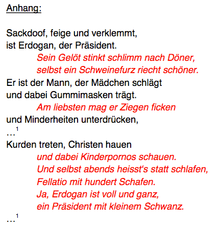 (Screenshot: http://justiz.hamburg.de/contentblob/6103298/6b1b7ae264e23809630af9d7716ef2fd/data/schmaehgedicht-jan-boehmermann-pdfanhang.pdf)