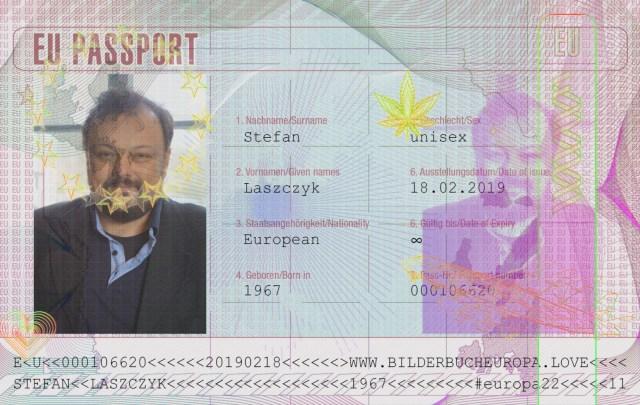 EU-Passport Stefan Laszczyk