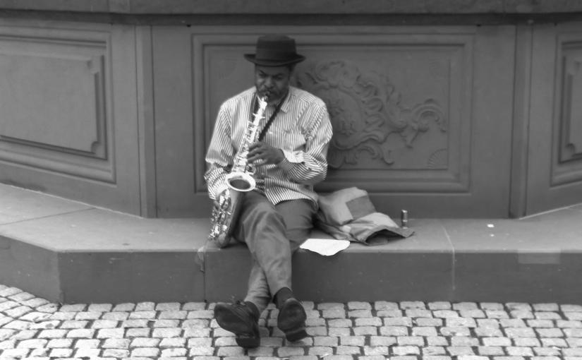 Straßenkünstler dieser Welt