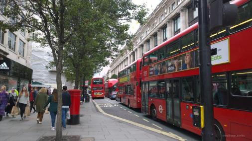 Die Busse gibt es überall...