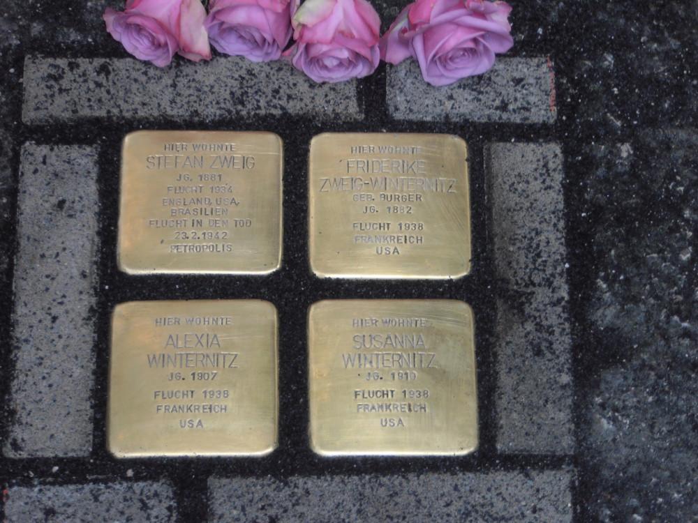 Stolperstein Stefan Zweig