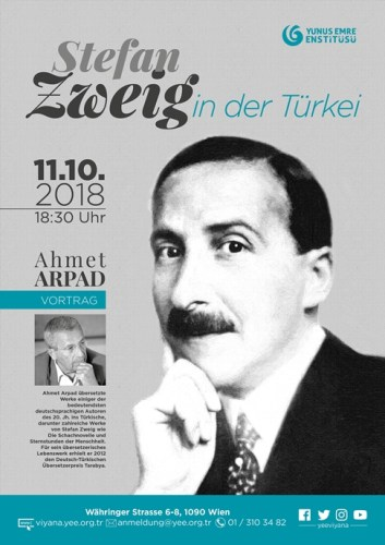 Vortrag: Stefan Zweig in der Türkei