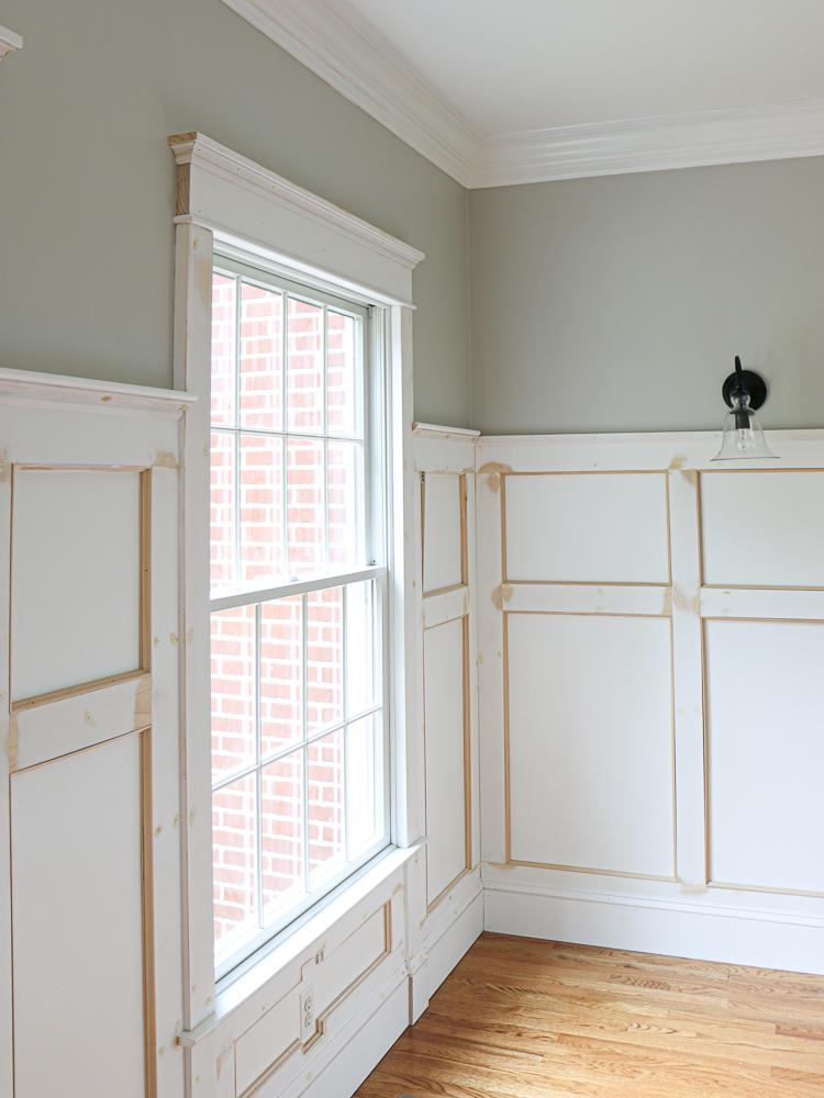 Dining Room Refresh Wall Molding, Dining Room Wall Molding Ideas