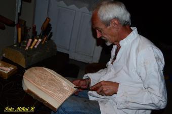 Sculptorul Stefan Csukat