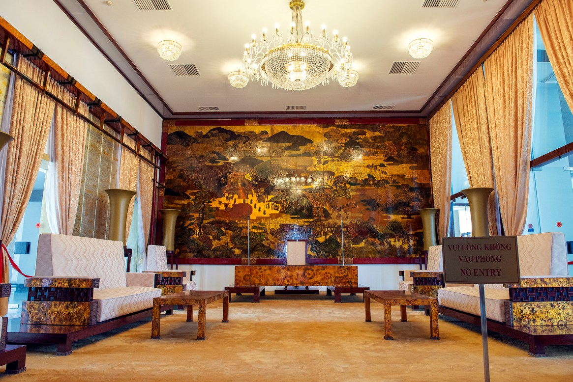 Inside Ho Chi Minh City's Reunification Palace