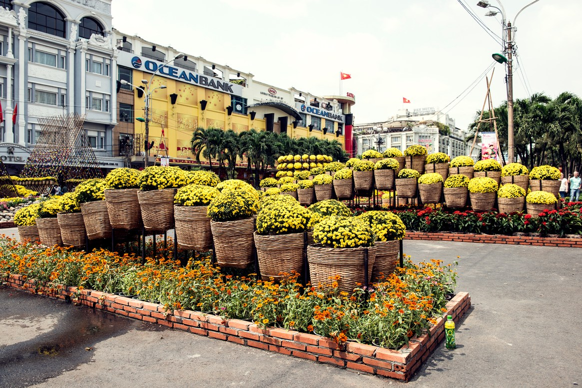 It was all Yellow: Saigon Welcomes the Year of the Snake
