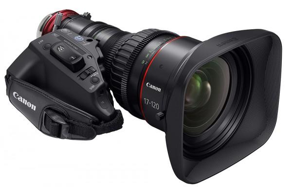 Canon kündigt $33K 17-120mm ENG Optik an