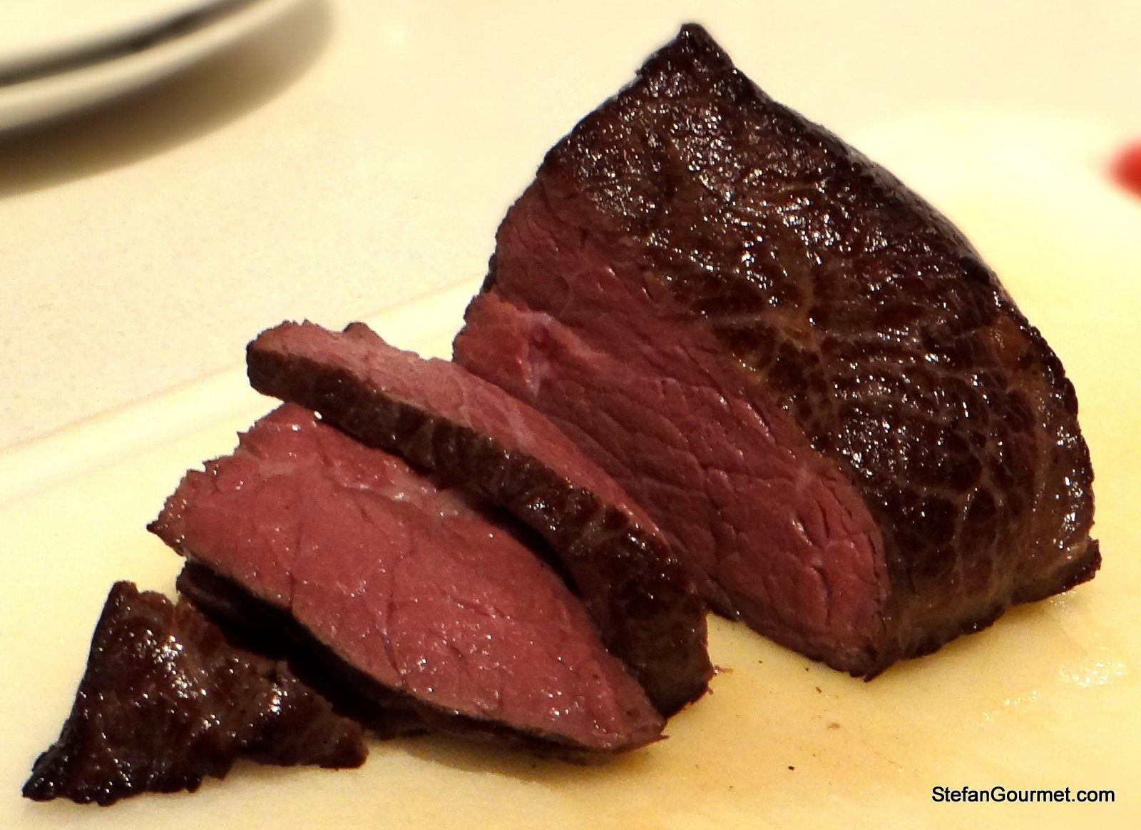 Horse Sirloin And Sous Vide A Not So Rare Combination