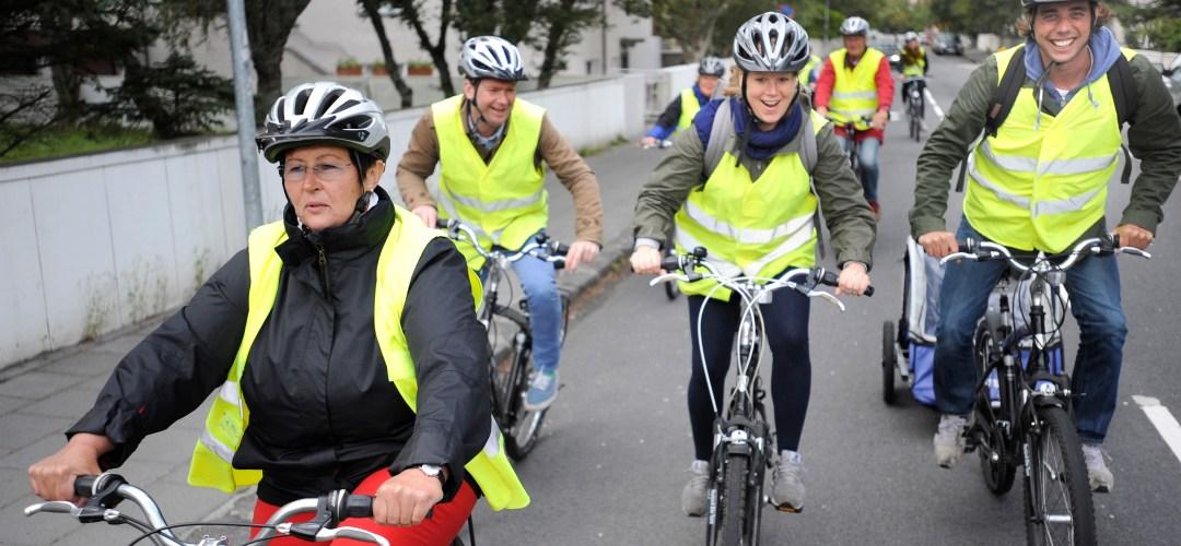 Bicycle tours in Reykjavik