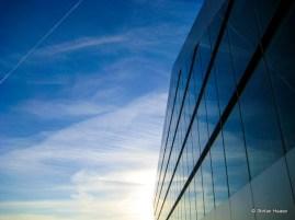 Blue Dockland Building