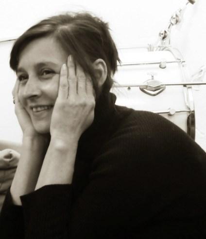Sandra smiles, 2015