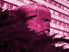 Marx, hiding (Chemnitz), 2012