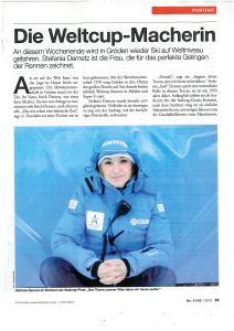 Stefania Demetz - una maker - Coppa del Mondo di Sci