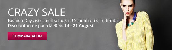 Cauta reduceri si promotii pe fashiondays.ro 14-21 august 2012