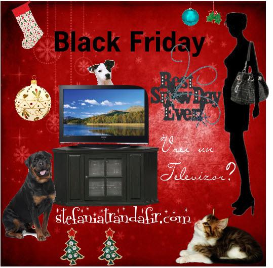 reduceri la televizoare de Black Friday