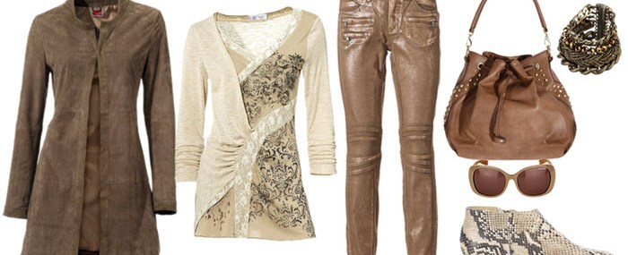Jacheta din piele lunga cu pantaloni stil biker – Outfit