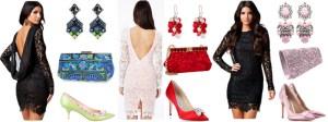 Rochii seducatoare din dantela cu accesorii diverse culori
