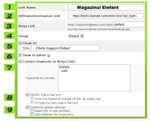 Cum sa administrezi linkurile de afiliere dintr-un site