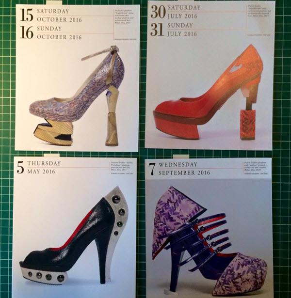 Calendar 365 Days of Shoes 2016 - pantofi Mihai Albu 4