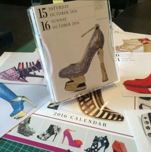 Calendar 365 Days of Shoes 2016 - pantofi Mihai Albu octombrie