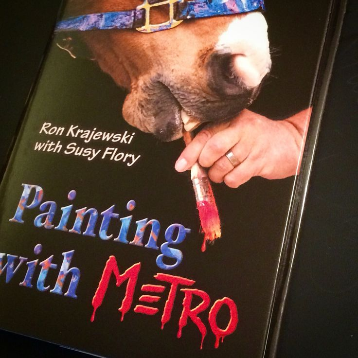 cartea Painting with Metro Ron Krajewsk