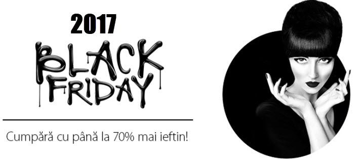 Black Friday Romania 2017 - Lista reducerilor din magazine