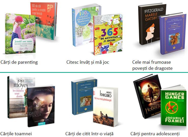 Reduceri eMAG 70 la suta Cele Mai Populare Carti Ale Toamnei