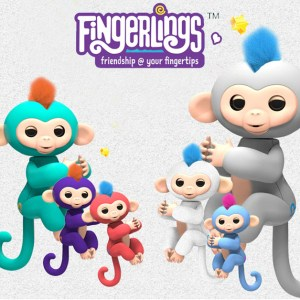 Figurine interactive Maimutelele Fingerlings Baby