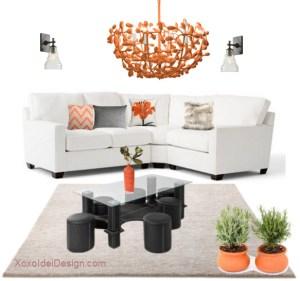 Masute de cafea pentru living - Set masa cafea cu 6 taburete - cadru MDF cu tapiterie PVC neagra