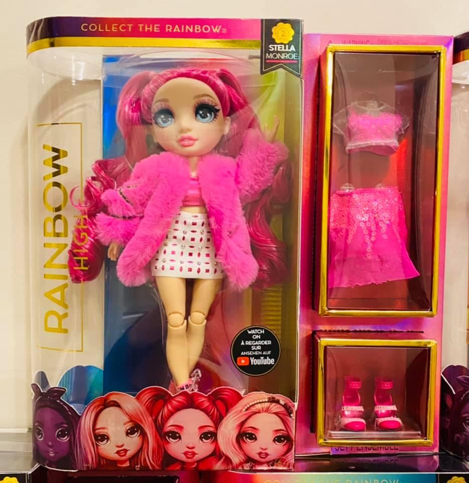 Papusa Rainbow High Fashion Doll Stella Monroe