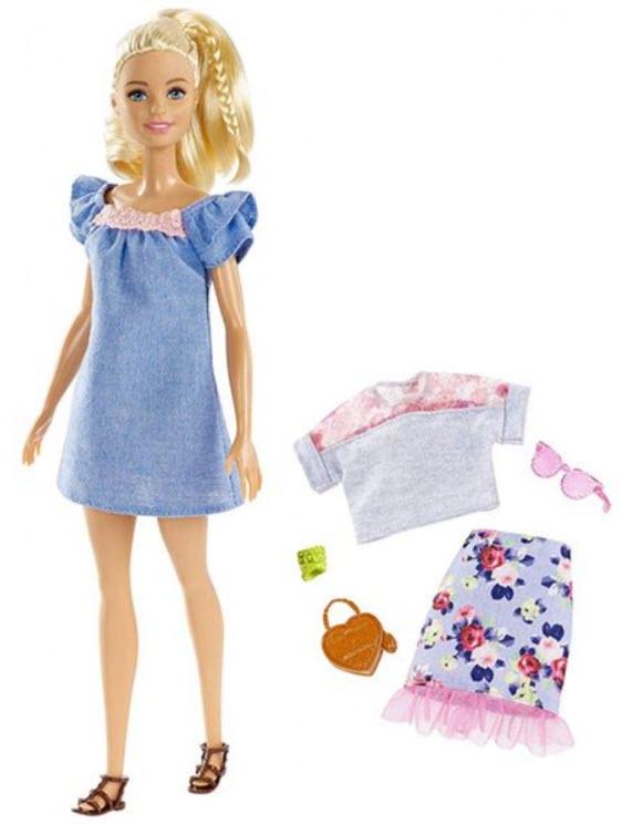 Barbie Fashionistas 99 cu tinuta suplimentara la doar 54 lei