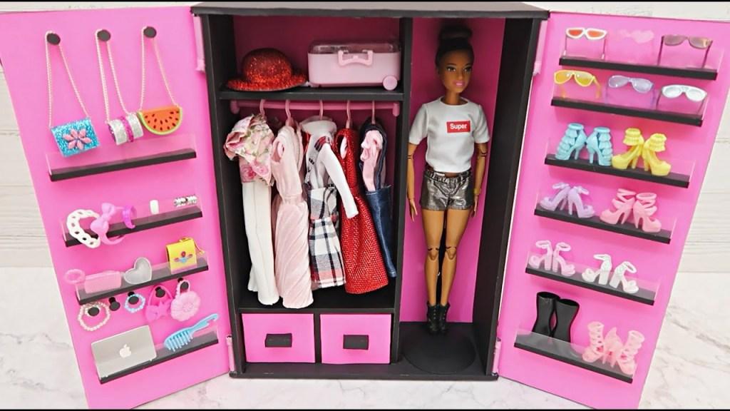 dulap barbie din carton gros