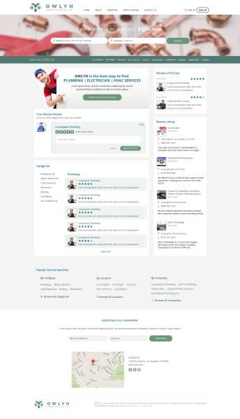Owlyh - Web design