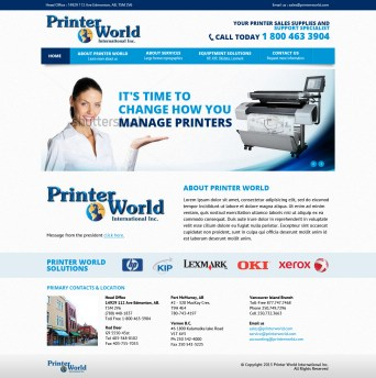 Web Design + Wordpress Implementation