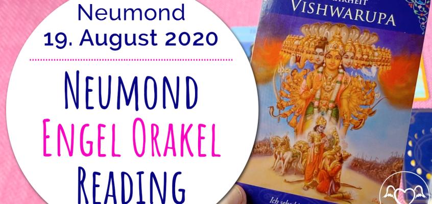 NeumondEngelOrakel Reading 19. August: Frieden, Wahrheit & Seelenliebe