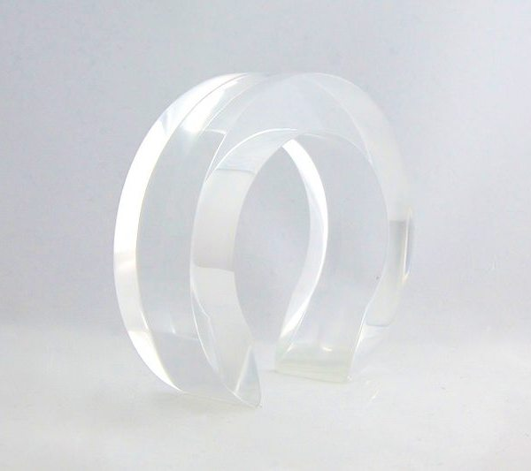 Moment of clarity acrylic cuff