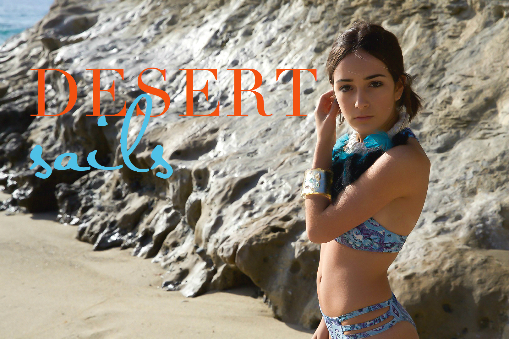 Desert Sails nautical jewelry collection look book