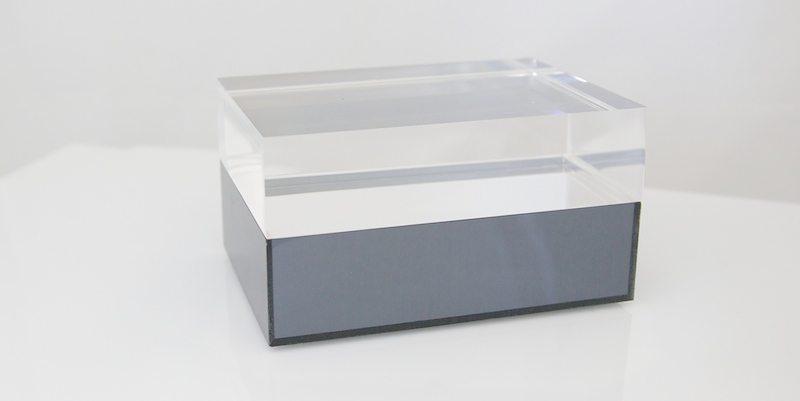 MIDNIGHT SWIM MIRRRORED ACRYLIC JEWELRY BOX