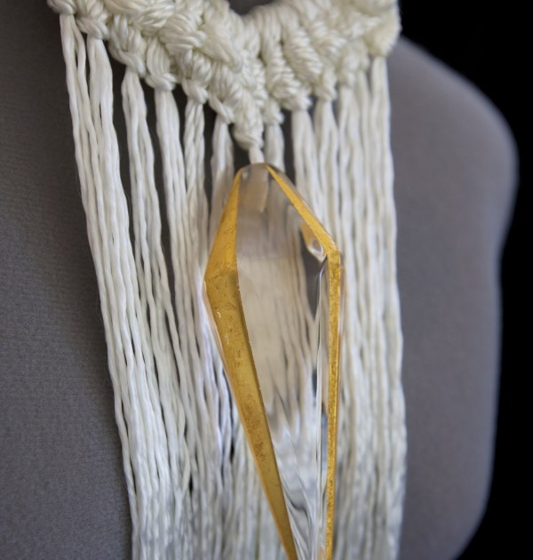 Unmissable Presence rope necklace from the nautical jewelry collection by Stefanie Phan
