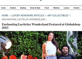 Husband and wife designer duo Aaron R. Thomas and Stefanie Phan-Thomas featured in the Robb Report Luxury Newswire