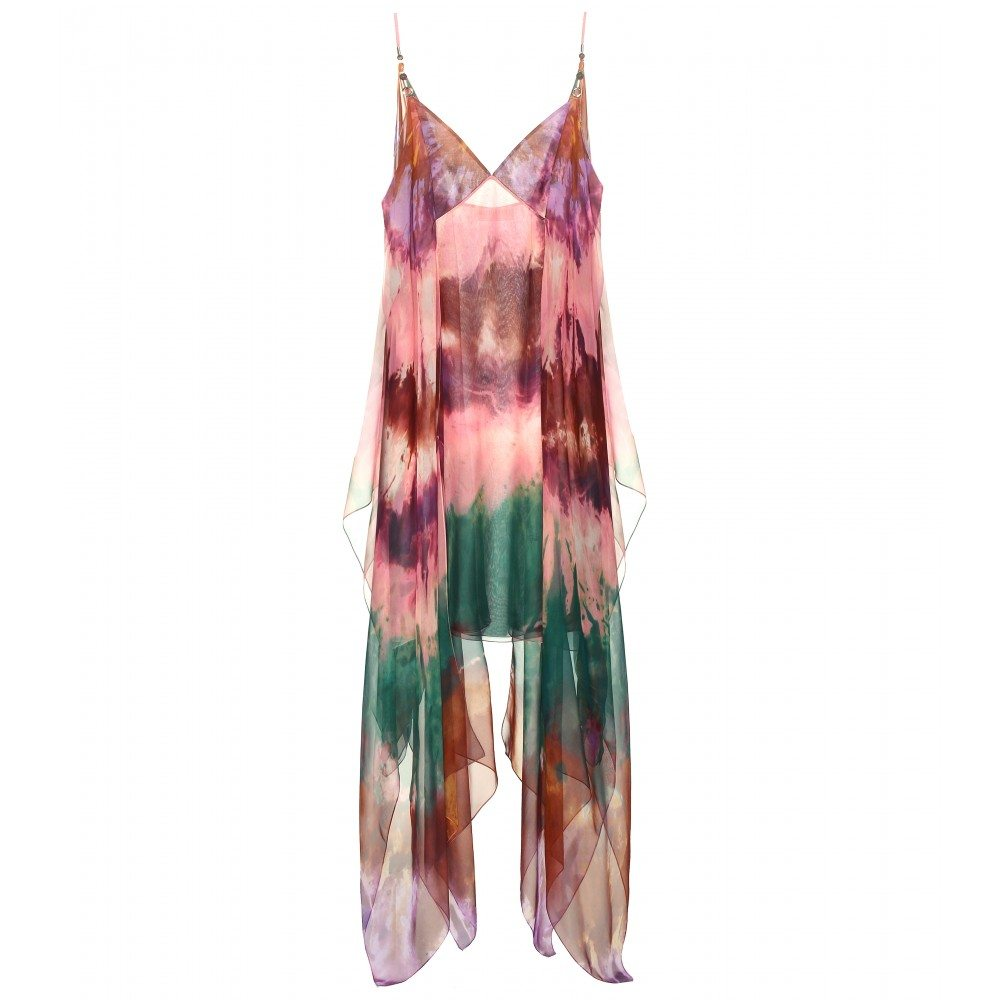 Emilio Pucci Printed Silk Chiffon Dress $3800