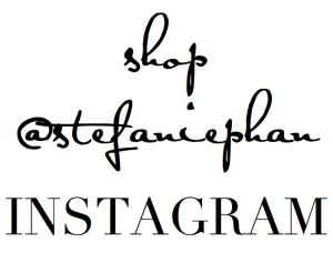 SHOP STEFANIE PHAN INSTAGRAM