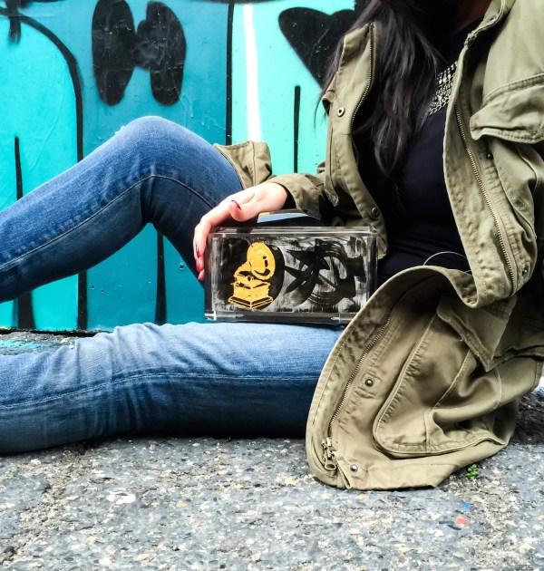 Stefanie Phan Last Dance Limited Edition Grammys acrylic clutch_2