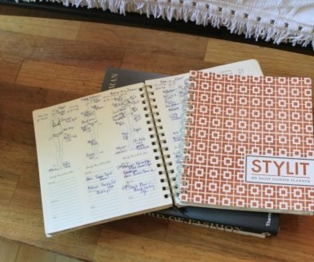 """This is one of my proudest moments; I created this daily fashion planner, StylIt."""